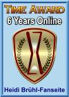 Time Award - 6 Jahre online!