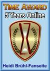 Time Award - 5 Jahre online!