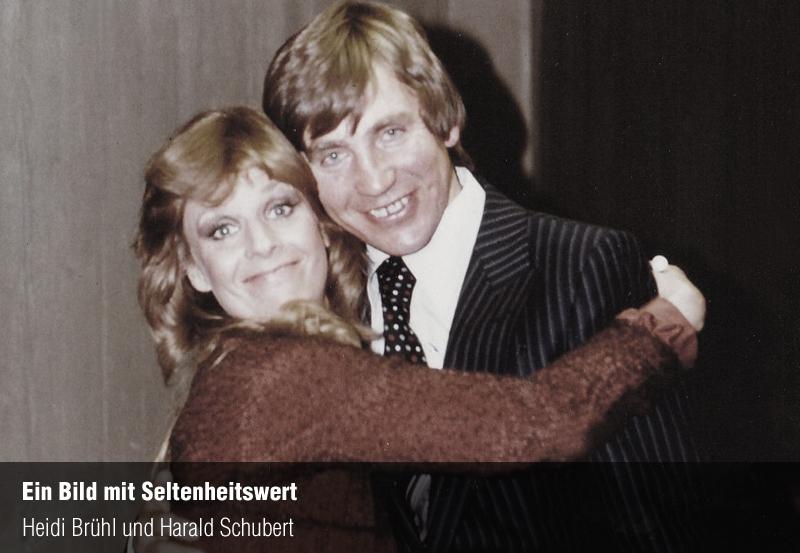 Harald Schubert und Heidi Brühl  im Jahr 1978