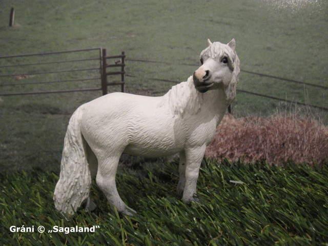 """Eines von 2 Ponies, die von Heidi Brühl in ihrer Rolle als """"Dalli"""" geritten wurden ..."""
